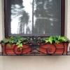 №008 Кованая цветочница на окно