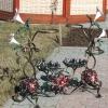 №017 Напольная кованая цветочница