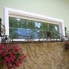 №034 Кованая цветочница на окно