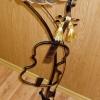 №046 Кованая подставка под цветочный горшок