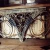 №022 Декоративный кованый экран на радиатор