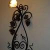 №053 Кованый настенный светильник