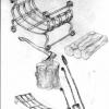 №025 Эскиз кованых аксессуаров для камина