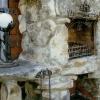 №027 Оформление камина коваными аксессуарами