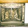 №028 Кованый экран для камина Пушкино