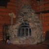 №045 Кованый набор и экран для камина Руза