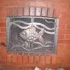 №050 Кованые дверцы для камина