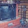 №066 Оформление камина ковкой