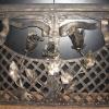 №079 Кованые дверцы для камина