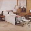 №043 Набор спальной кованой мебели