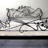 №054 Кованая кровать ручной авторской работы