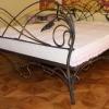 №064 Кованая кровать авторской ручной работы