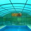 №016 Навес из поликарбоната для бассейна