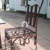№001 Кованый стул.  Ручная работа. Цена 6000 руб.