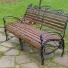 №002 Кованая скамейка
