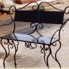 №007 Кованая скамейка