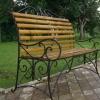 №011 Кованая скамейка