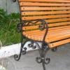 №020 Кованая скамейка