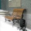 №021 Кованая скамейка