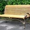 №024 Кованая скамейка