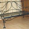 №026 Кованая скамейка