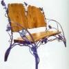 №034 Кованая скамейка