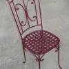 №040 Кованый стул Истра