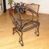 №065 Кованый стул со спинкой