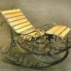 №016 Кованое кресло качалка