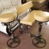 №021 Кованый барный стул