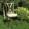 №025 Кованый стул