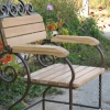 №032 Кованое кресло