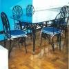 №047 Кованая мебель стол со стульями