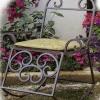 №061 Кованое кресло качалка