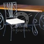 Арт №009 Кованый обеденный стол