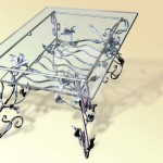 Арт №016 Кованый стол Люберцы