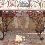Арт №019 Кованый стол Чехов