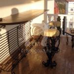 Арт №052 Кованый стол со стульями для кафе