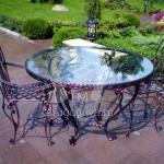 Арт №063 Кованый стол со стульями