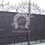 Арт №105 Кованые ворота
