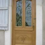 №007 Кованая дверь