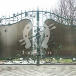 Арт №046 Кованые ворота