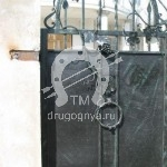 Арт №102 Кованые ворота Клин