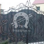 Арт №039 Кованые ворота