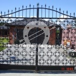 Арт №040 Кованые ворота Егорьевск