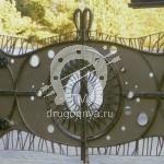 Арт №037 Распашные кованые ворота