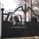 Арт №101 Кованые ворота