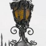 Кованые фонари, светильники и люстры