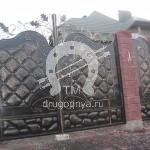 Арт №034 Кованые ворота Павловский Посад