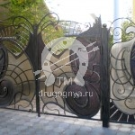 Арт №030 Кованые ворота Домодедово